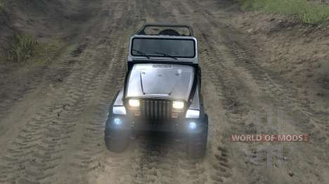 Jeep Wrangler YJ Sahara для Spin Tires