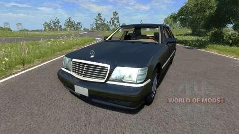 Mercedes-Benz S600 для BeamNG Drive