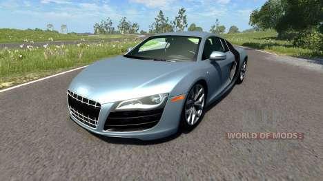 Audi R8 V10 для BeamNG Drive