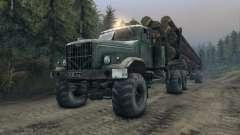 КрАЗ-255Л лесовоз v3.0