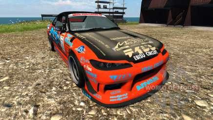 Nissan Silvia S15 Sport для BeamNG Drive