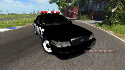 Ford Crown Victoria Police Interceptor для BeamNG Drive
