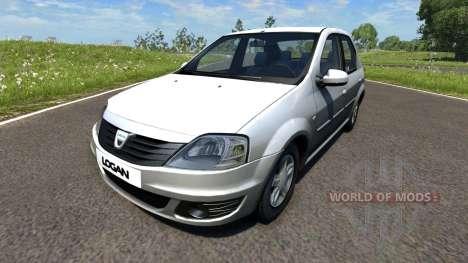 Dacia Logan 2008 для BeamNG Drive