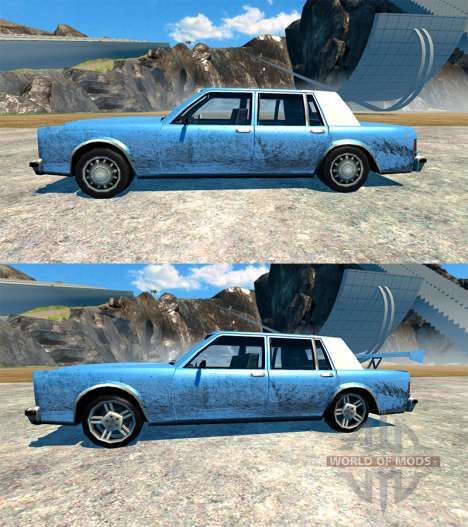 Greenwood v2.0 для BeamNG Drive