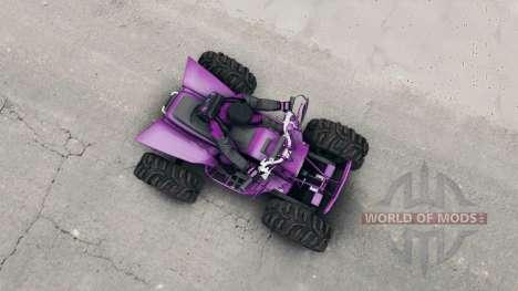 Квадроцикл для Spin Tires
