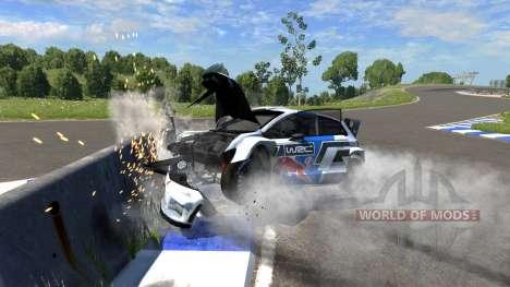 Volkswagen Polo R WRC для BeamNG Drive