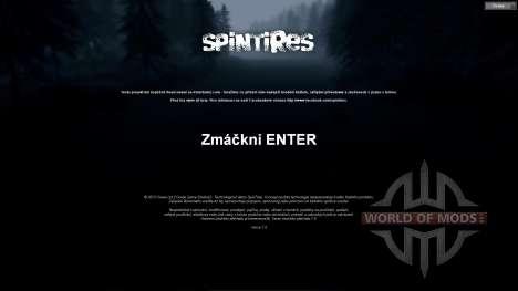Чешский перевод для Spin Tires
