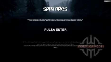 Испанский перевод для Spin Tires