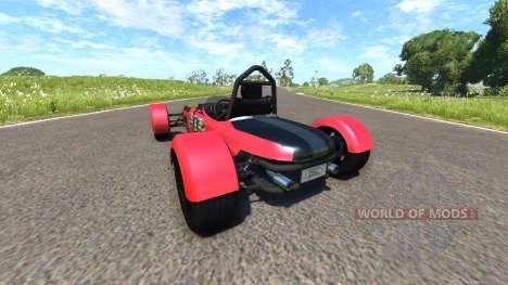DSC Bora 2014 Red для BeamNG Drive