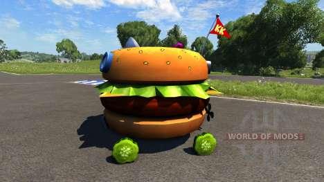 DSC Patty Wagon для BeamNG Drive