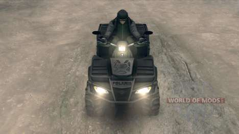 Polaris Sportsman 4x4 для Spin Tires