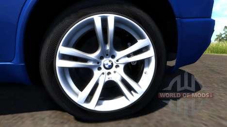 BMW X5M Blue для BeamNG Drive