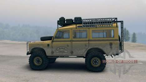 Land Rover Defender Camel для Spin Tires