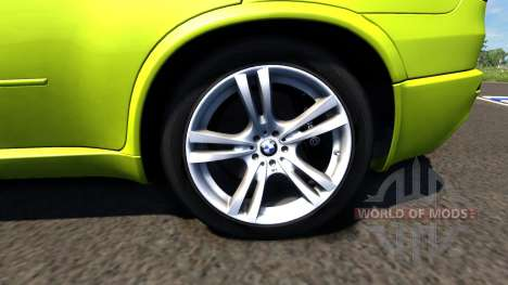 BMW X5M Yellow для BeamNG Drive