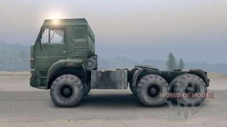 КамАЗ-65116 v2.0 для Spin Tires