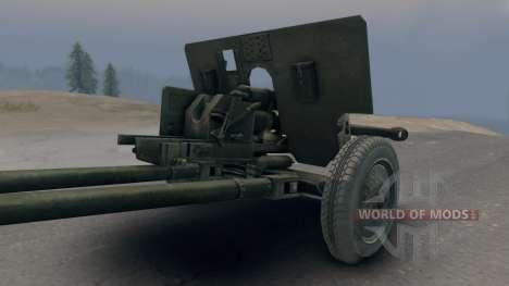 ЗиС-5 с пушкой ЗиС-3 для Spin Tires