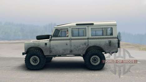 Land Rover Defender Cream для Spin Tires