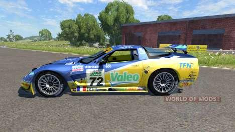 Chevrolet Corvette C5-R Valeo для BeamNG Drive