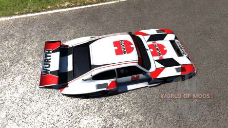 Ford Capri Zakspeed Turbo Group 5 для BeamNG Drive