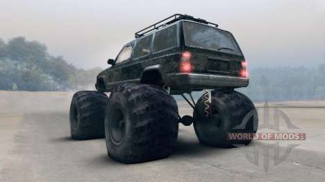 Jeep Grand Cherokee Monster для Spin Tires