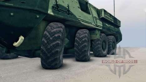 Stryker для Spin Tires