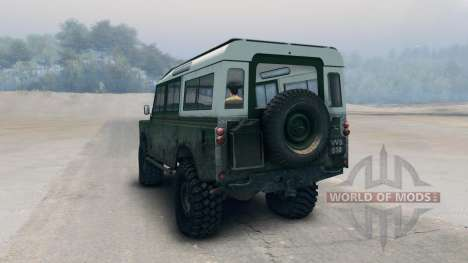 Land Rover Defender Green для Spin Tires