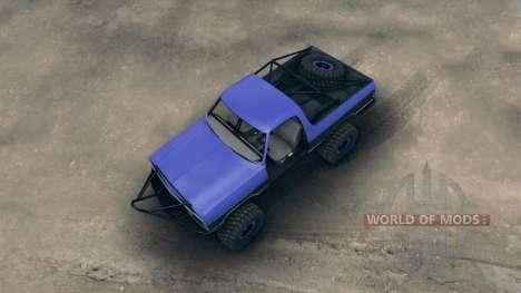 Dodge Ramcharger trail для Spin Tires