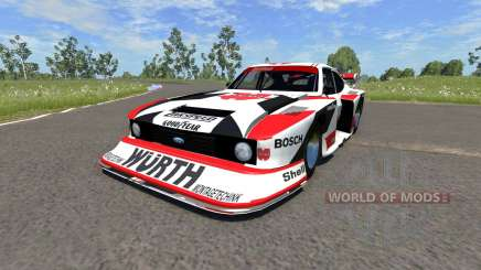 Ford Capri Zakspeed Turbo Group 5 для BeamNG Drive