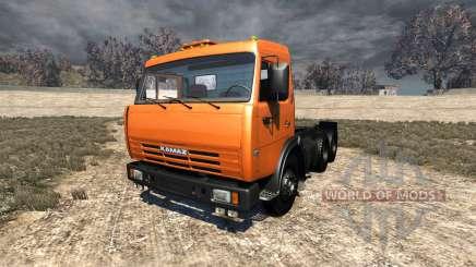КамАЗ-65115 для BeamNG Drive