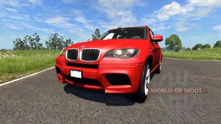 BMW X5M Red для BeamNG Drive