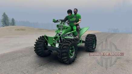 Квадроцикл v2 для Spin Tires