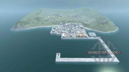 Локация -Industrial- для BeamNG Drive