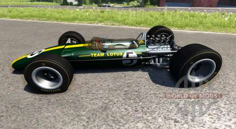 Lotus Type 49 1967 для BeamNG Drive