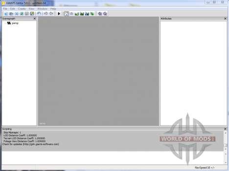 GIANTS Editor v5.0.1 для Farming Simulator 2013