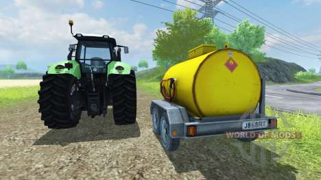 Fuel Adjust для Farming Simulator 2013