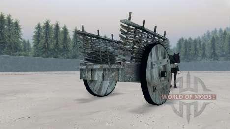 Повозка для Spin Tires