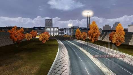Осень для Euro Truck Simulator 2