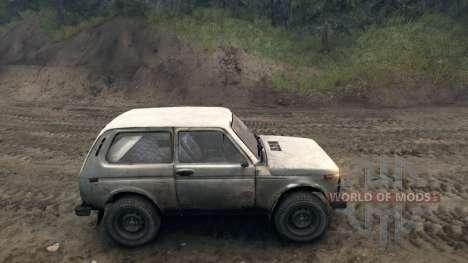 ВАЗ 2121 Нива v1.0 для Spin Tires