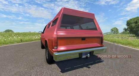 Gavril D-Series Pickup Hatch для BeamNG Drive
