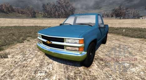Chevrolet Silverado 1500 1994 для BeamNG Drive