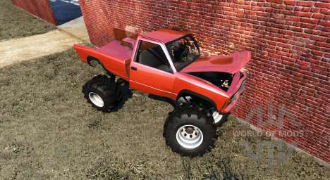 Gavril D-Series Monster Truck v2 для BeamNG Drive