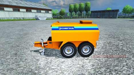 Топливозаправщик Chieftain для Farming Simulator 2013