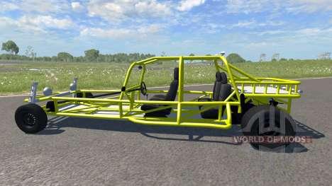 VW Rail Buggy для BeamNG Drive