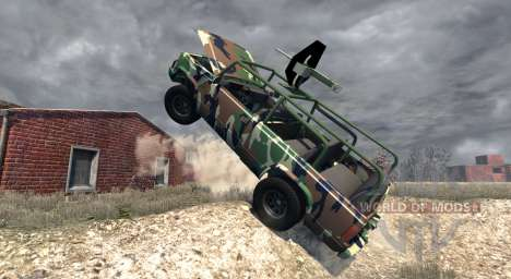 Gavril D-Series African Rebel для BeamNG Drive