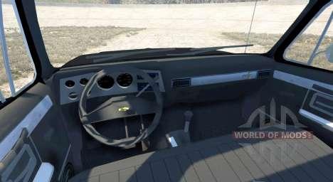 Chevrolet Silverado 1500 1986 для BeamNG Drive