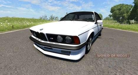 BMW E24 M6 для BeamNG Drive