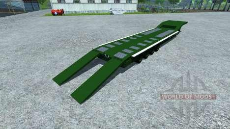 Полуприцеп MAN TGA для Farming Simulator 2013