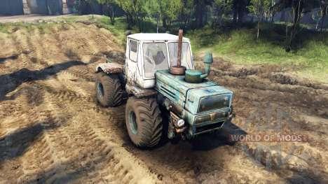 Т-150К для Spin Tires