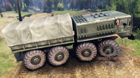 МАЗ-535 v1.2 для Spin Tires