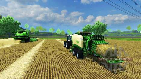 Krone Big Pack 1290 для Farming Simulator 2013